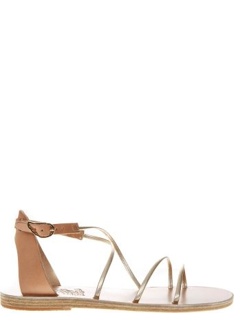 Ancient Greek Sandals Meloivia Cuir Leather Sandals