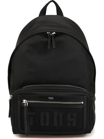 Tod's Easy Tech Medium Backpack