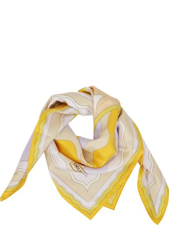 Emilio Pucci Printed Detail Scarf