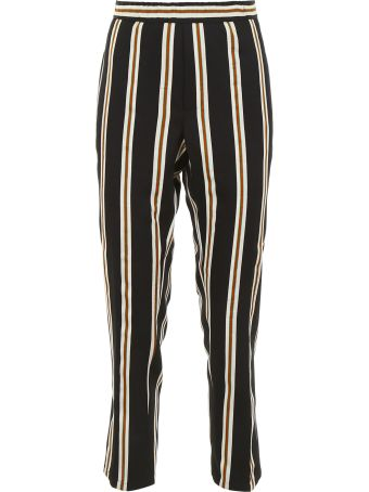 Closed Striped Trousers