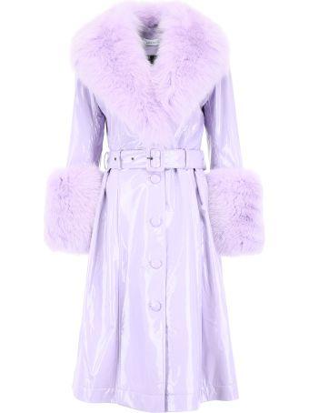 Saks Potts Shiny Foxy Coat