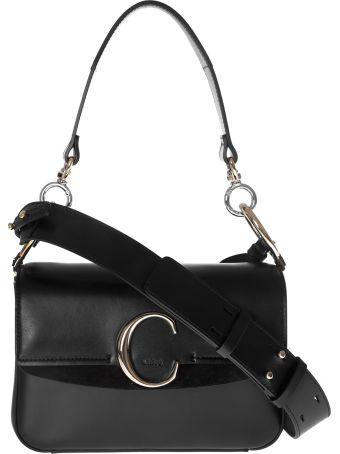 Chloé Small C Double Shoulder Bag