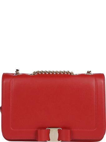 Salvatore Ferragamo Bow Detail Shoulder Bag
