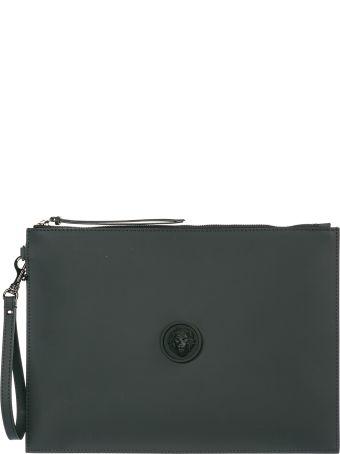 Versus Versace  Bag Handbag Genuine Leather Lion Head