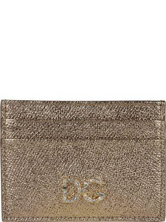 Dolce & Gabbana Embellished Dg Logo Card Slots