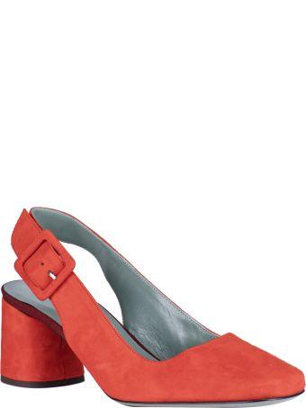 Paola D'Arcano Almond Toe Slingback Pumps