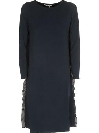 Max Mara Side-ruffled Dress