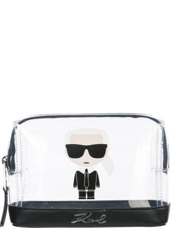 Karl Lagerfeld  Travel Makeup Beauty Case K/ikonik