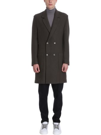 Low Brand Green Wool Coat