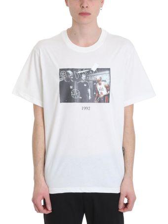 Throw Back Michael White Cotton T-shirt
