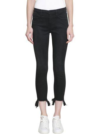 Frame Le High Skinny Cotton Denim Jeans