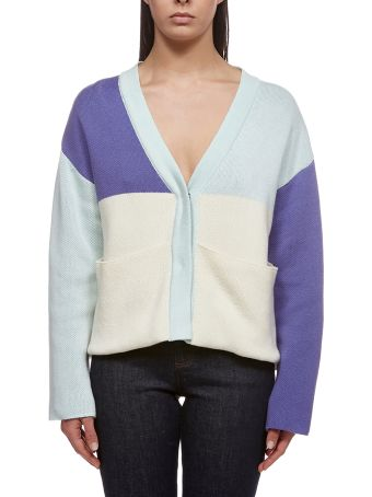 Valentine Witmeur Lab Knitted Cropped Cardigan