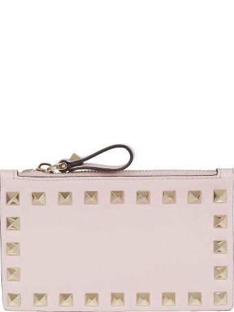 Valentino Garavani Embellished Card Holder