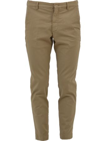 Pence Tailored Beige Trousers