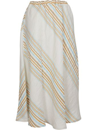 Roberto Collina Striped Skirt