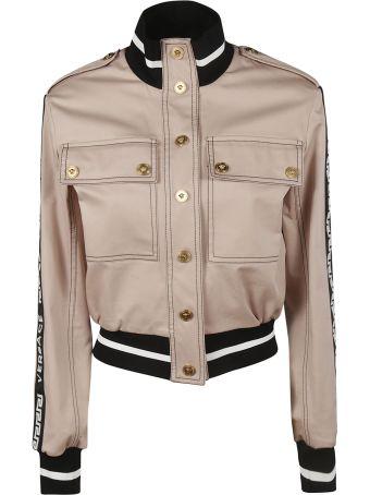 Versace Striped Trim Jacket