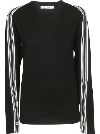 Givenchy Striped Detail Sweater