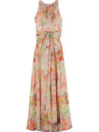 Max Mara Studio Mintea Silk-georgette Dress