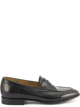 Green George Black Maremma Leather Loafer