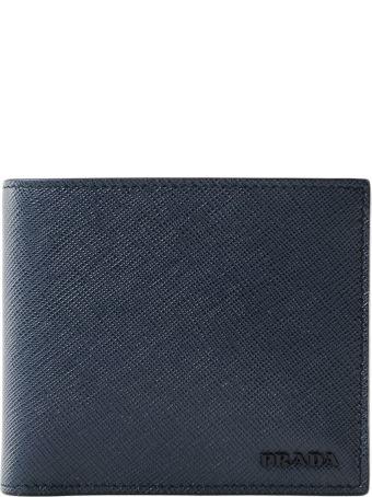 Prada Saffiano Billfold Wallet