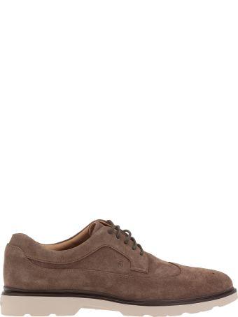 Hogan Suede Leather Lace-up Shoe