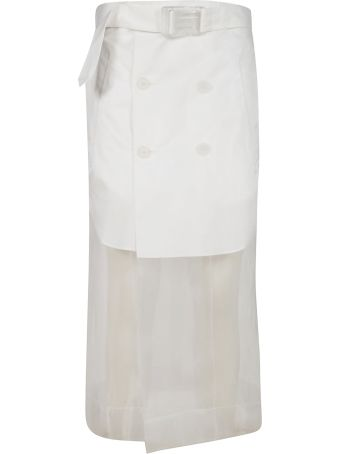 Maison Margiela See-through Skirt