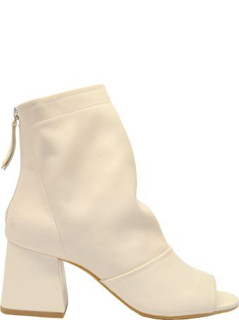 Vic Matié Open Toe Ankle Boots