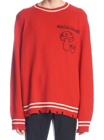 Riccardo Comi 'what Do You See' Sweater