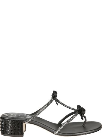 René Caovilla Embellished Sandals