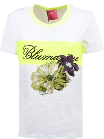 Blumarine Capsule Embroidered Flower T-shirt