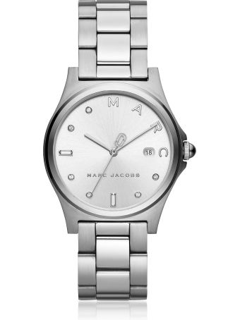 Marc Jacobs Henry Silver Tone Crystal Women's Watch