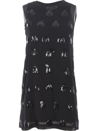 McQ Alexander McQueen Sequin Embellished Dress