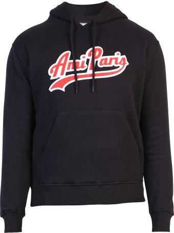 Ami Alexandre Mattiussi Black Branded Sweatshirt