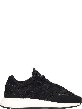 Adidas Black Fabric I-5923 Sneakers