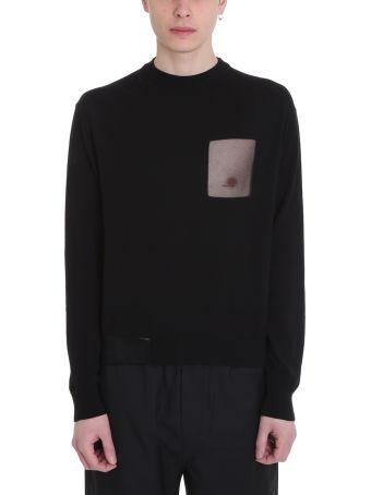 OAMC Celluloid Black Wool Sweater