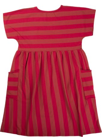 Babe & Tess Pink / Raspberry Striped Dress
