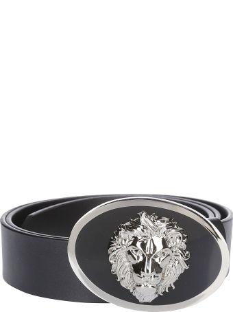 Versus Versace Lion Head Logo Belt