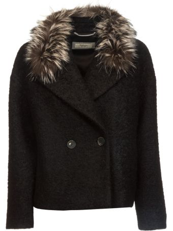 Peserico Fur Trimmed Blazer