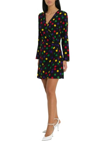 Rixo London Abba Mini Wrap Dress