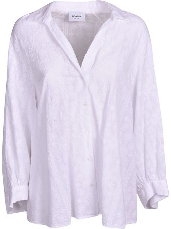 Dondup Embroidered Oversized Shirt