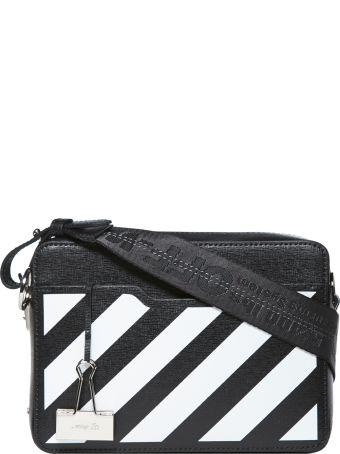Off-White Striped Shoulder Bag