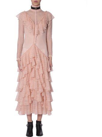 Alexander McQueen Engineered Lace Dress