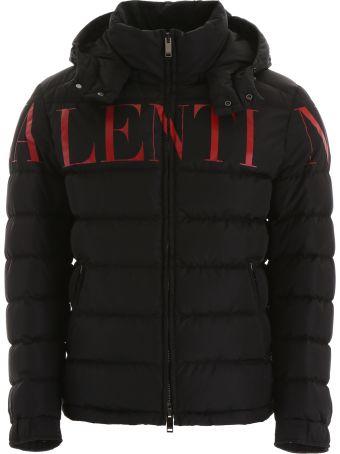 Valentino Logo Puffer Jacket