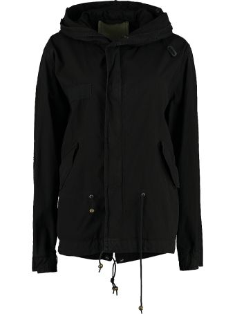 Mr & Mrs Italy Hooded Canvas Mini-parka