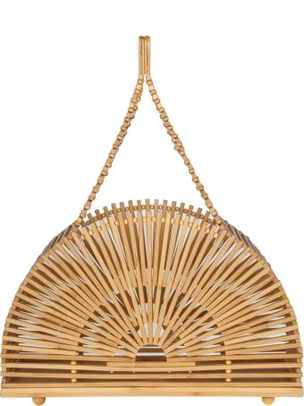 Cult Gaia Handbag Cupola Bag Small In Bamboo