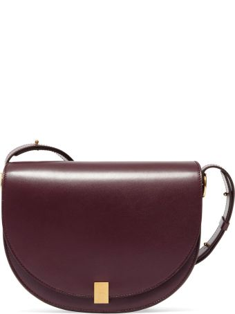 Victoria Beckham Half Moon Box Smooth-leather Shoulder Bag