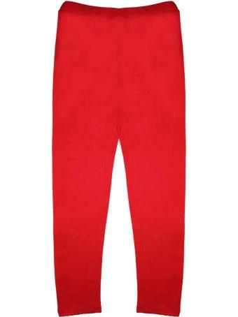 GCDS Mini Red Gcds Leggins