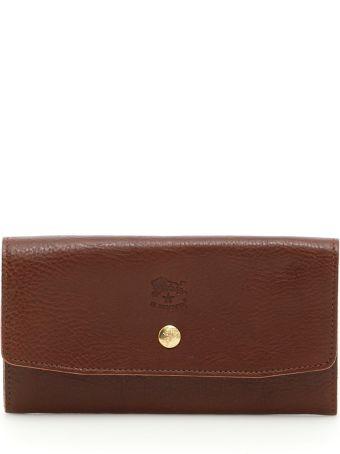 Il Bisonte Grain Leather Wallet