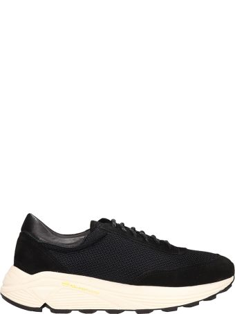 Our Legacy Mono Runner Black Suede And Fabric Sneakers