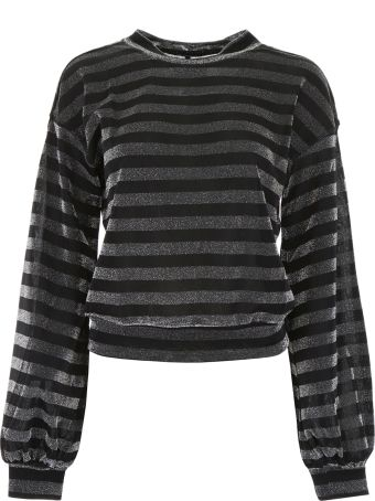 RTA Striped Lurex Top
